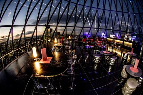 Bar At The Top Of The Gherkin by Dracula S Chagne Searcys Bar At The Gherkin