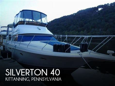 Silverton 40 Aft Cabin Review by Silverton 40 For Sale In Kittanning Pa For 105 600 Pop