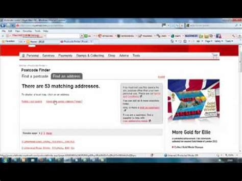 Royal Mail Address Finder With Postcode Related Topics Royal Mail Is Changing My Postcode I Need Images Frompo
