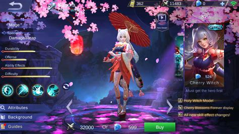 wallpaper kagura mobile legend wallpaper mobile legend kagura cherry witch gudang wallpaper