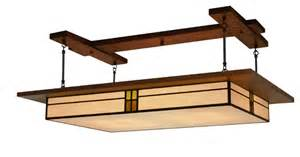craftsman style ceiling light dining room lighting prairie style light fixture 907