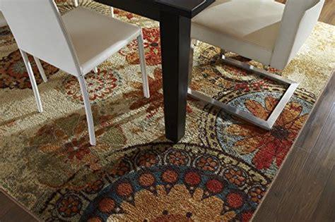 caravan medallion multi area rug mohawk home strata caravan medallion printed rug 5x8 multi home decor