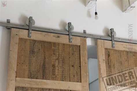 porte abete grande porta scorrevole a due ante struttura in legno