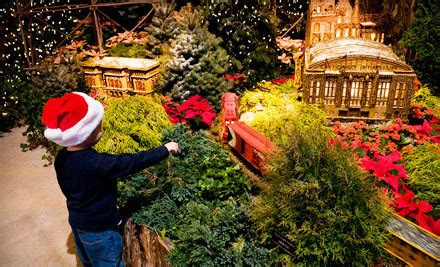 Wonderland Express At Chicago Botanic Gardens For 4 With Chicago Botanic Garden Parking