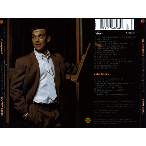 robbie williams swing when you re winning robbie williams swing when you re winning album