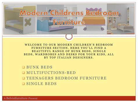 modern children s furniture ppt modern childrens bedroom furniture powerpoint
