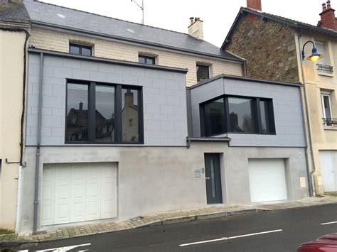 Extension Garage Maison by Derouet Constructeur De Maison Bois En Mayenne 53