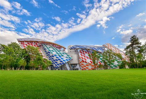 Fondation Vuitton by Fondation Vuitton Daniel Buren