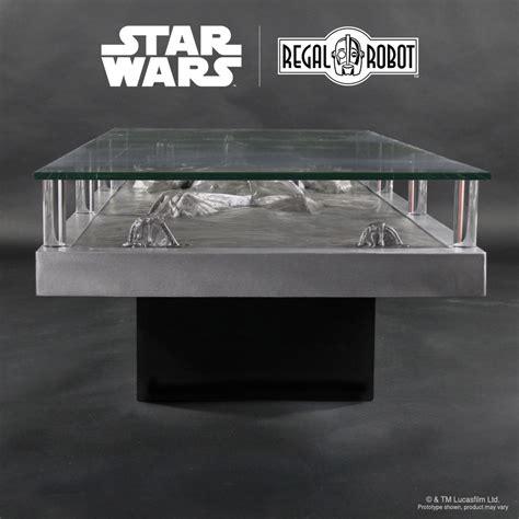 han carbonite coffee table regal robot