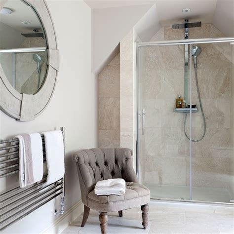 ensuite bathroom tiles classic en suite bathroom with travertine tiles