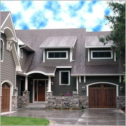 Best Front Door Color For Selling A House Best Color To Paint Front Door To Sell House 187 Buy Light Gray Shingles Gray Walls White