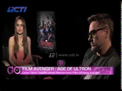 cinta laura di film avengers cinta laura interview with the avengers age of ultron