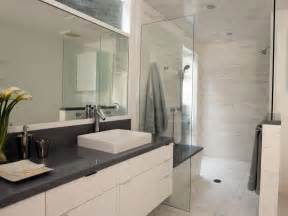 gray and white bathroom ideas light airy contemporary bathroom christopher grubb hgtv