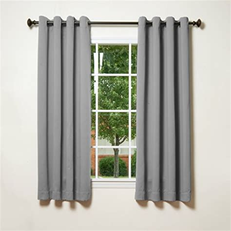 grey grommet curtains best home fashion grey grommet top thermal insulated