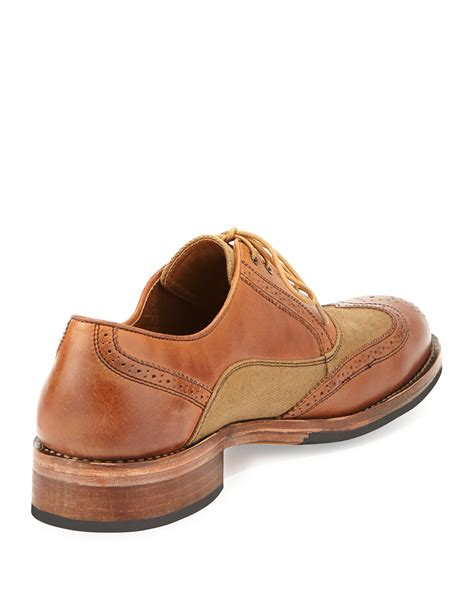 wolverine oxford shoes wolverine bromley brogue oxford shoe in for lyst