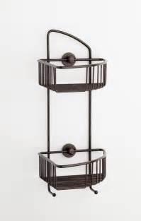no drilling required corner shower caddy bronze
