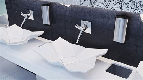 Origami Sink - 10 amazing modern bathroom sinks for a luxurious home