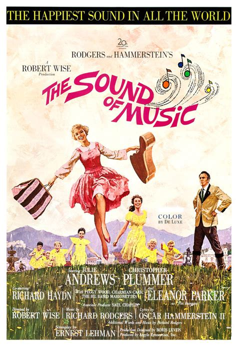 imagenes musical sonrisas y lagrimas the sound of music movie musical poster print 13x19 or