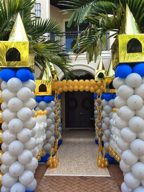 DreamARK Events Blog: First birthday party decorations ideas Prince theme.