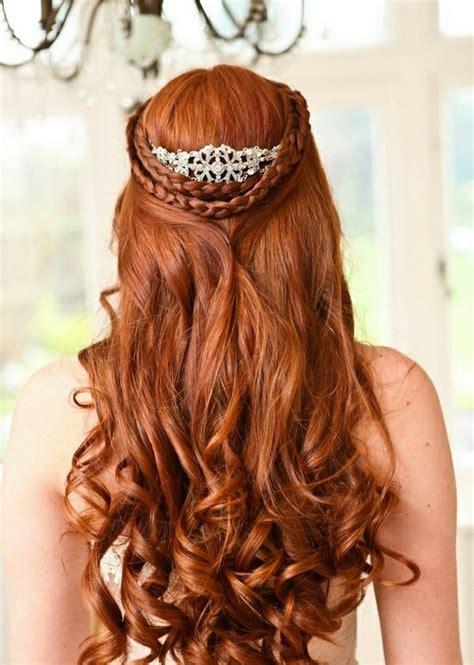 Hochzeitsfrisur Rote Haare by Hochzeitsfrisuren Zum Nachmachen 33 Haarideen F 252 R Die