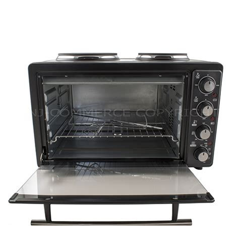 Table Top Heat L by Mini Convection Oven Electric Grill Hob Rotisserie 2