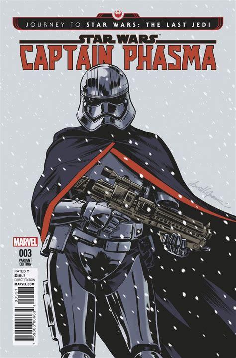 libro star wars phasma journey journey to star wars the last jedi captain phasma 3 lopez cover fresh comics