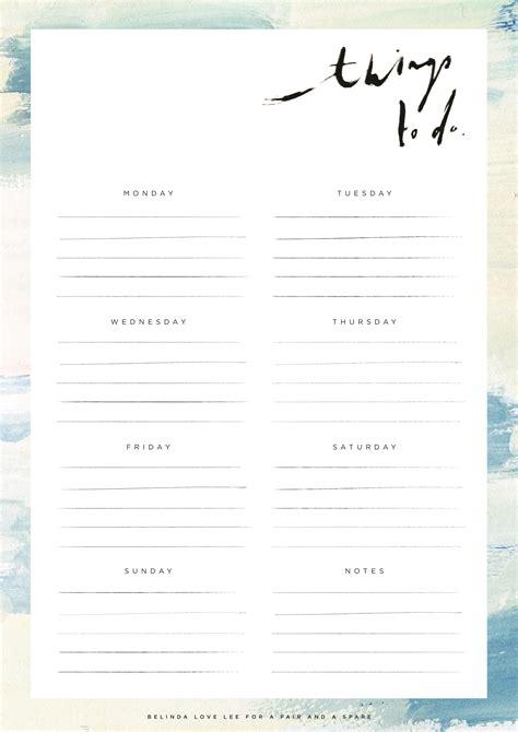 diy printable to do list diy printable to do list a pair a spare