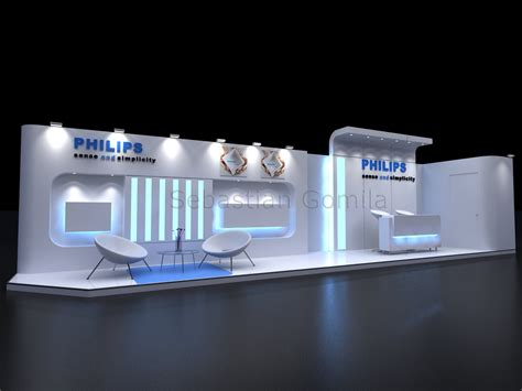 Home Decor Exhibition Exhibition Booth Decoration Corporate Fair Stall