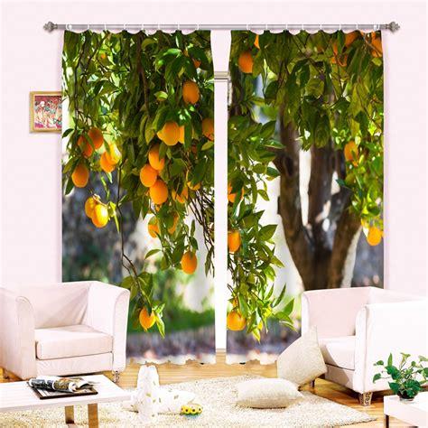 orange kitchen curtains orange kitchen curtains promotion shop for promotional