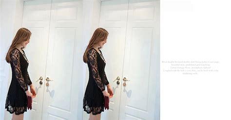 Dress Brukat By Bnink Toko dress brukat hitam terbaru model terbaru jual murah
