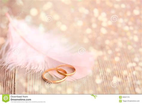 Black Wedding Background Jpg by Wedding Background With Gold Rings Pink Feather And