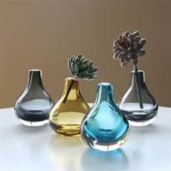 mini glass vases mini modern glass bottle vases apollobox