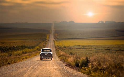 Road Car Wallpaper by Road Sunset Car Nature Hd Wallpapers Ultra Hd Walls
