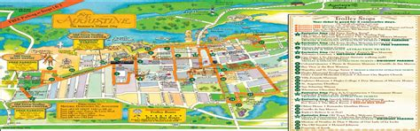 st tourist map maps update 564431 st augustine tourist attractions map