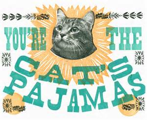 The gallery for   > Youre The Cats Pajamas