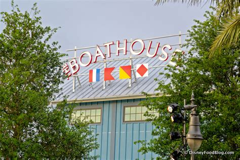 boat house sign review lunch at the boathouse in disney springs the disney food blog