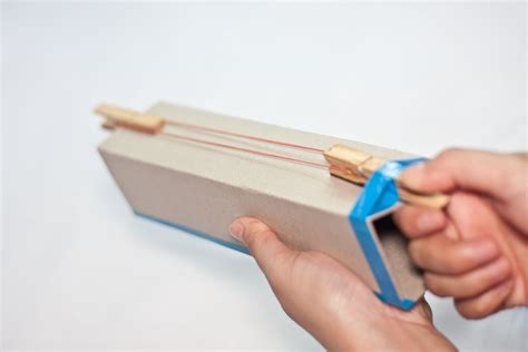 How To Make Paper Weapons That Work - how to make a cardboard rubber band gun 10 steps with