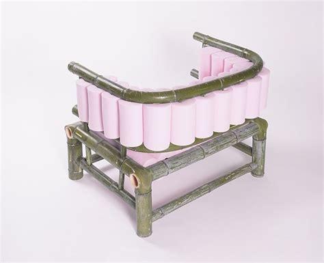 bamboo furniture designboom tadeas podracky personal bamboo sofa designboom bamboo