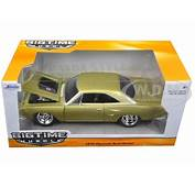 1970 Plymouth Road Runner Champagne 1/24 Diecast Model Car