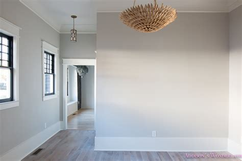 light gray walls our family room post construction reveal s