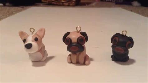 how to pug clay polymer clay tutorial corgi and pug