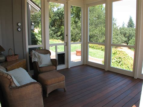 Screen Porch Flooring by Screen Porch