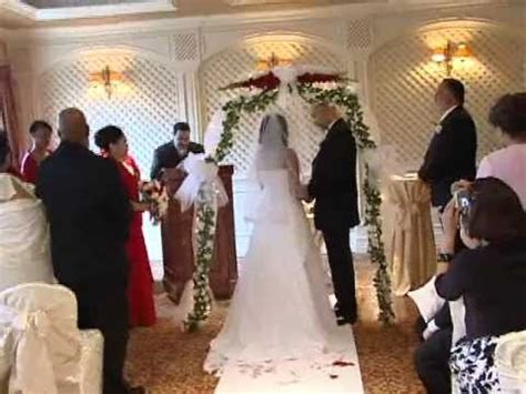 wedding ceremony video the venetian nj best videography