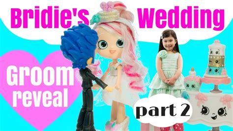 Wedding Stop Motion Animation by Bridie Gets Married Groom Reveal Season 7 Shoppies Wedding