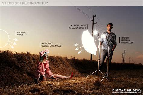 Paket Strobist Flash D sunset portrait strobist setup lighting scheme photo view all 조명