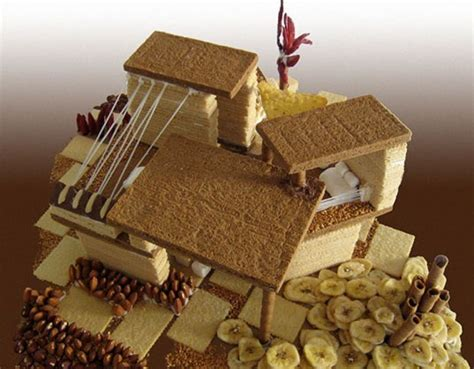 house cake design top 10 deliciously modern gingerbread houses inhabitat green design innovation