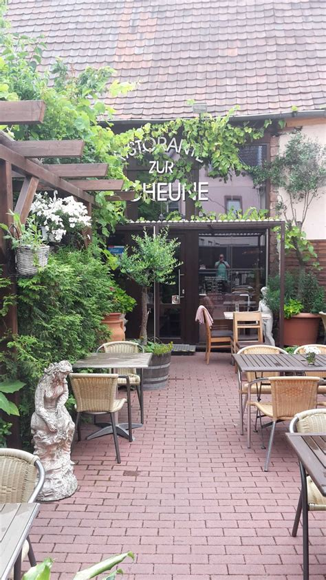 restaurant zur scheune ristorante zur scheune restaurant besenwirtschaft cafe