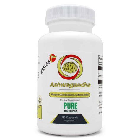 Ksm 66 Ashwagandha Extract Konsentrasi Dan Stress Reduction Herbal buy ksm 66 174 ashwagandha extract capsules powder
