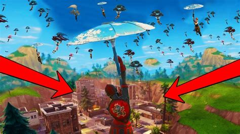 what fortnite is everyone when everyone lands at tilted towers in fortnite battle