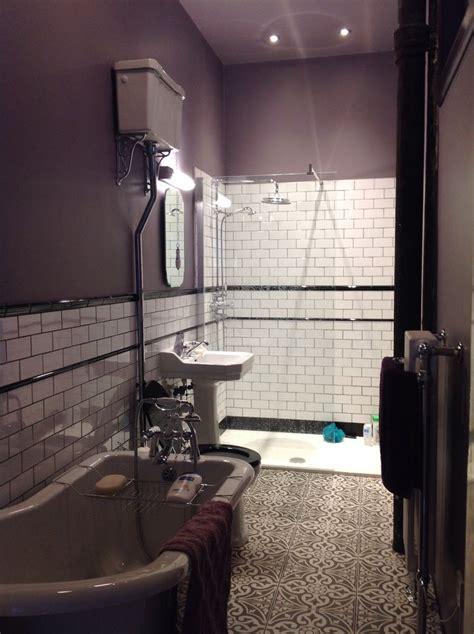 bathroom finally  full  farrow ball brassica